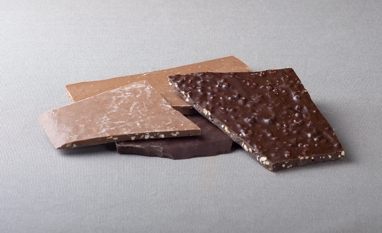 Chocolat en plaque
