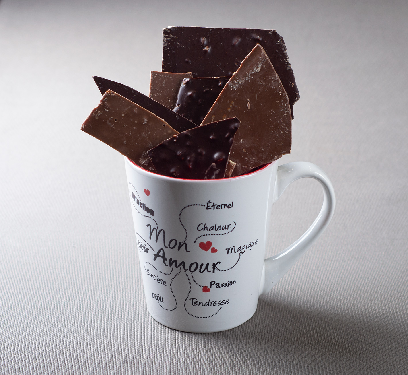 Tasse Chocolat Mon Amour