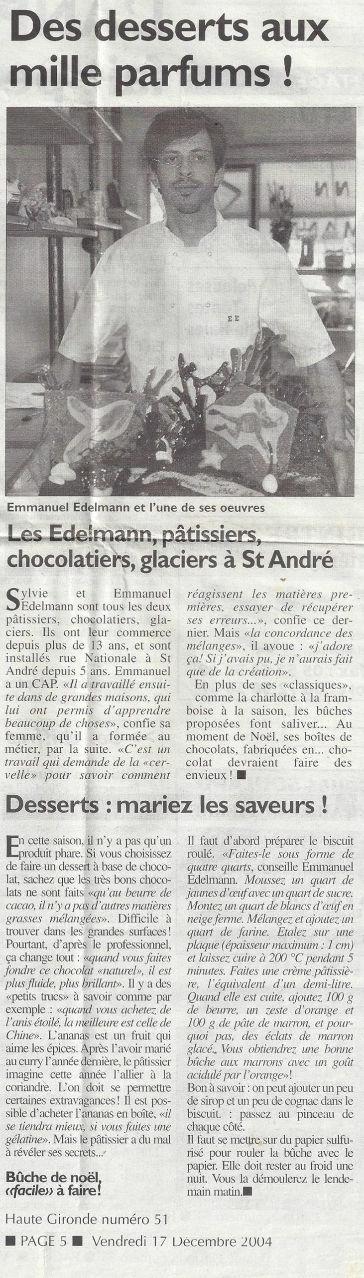 Pâtisserie Edelmann